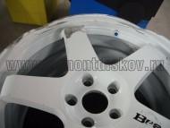 Колесный диск до ремонта