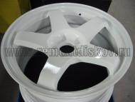 Колесный диск после  ремонта