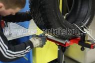 устранение и ремонт грыжи колеса