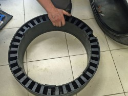 ремонт бронированных шин