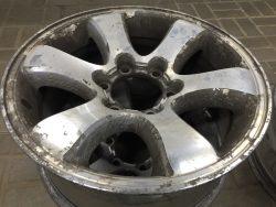 Восстановление дисков Land Cruiser Prado